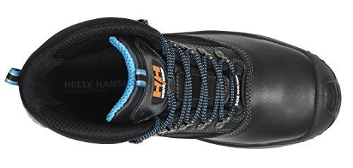 Helly Hansen 34Helly Hansen chaussures de sécurité S3Vika Mid Tex 78255HIGHTECH haute chaussures cuir noir, marron, 78255