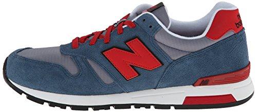 888546361058 - New Balance Men's Ml565 Lifestyle Running Shoe,Blue/Red, 10.5 D US carousel main 4