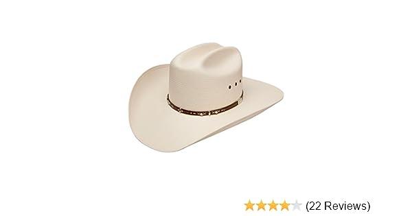 97192be7cf664 Resistol Men s George Strait Hazer 10X Shantung Straw Cowboy Hat at Amazon  Men s Clothing store  Hat By Resistol