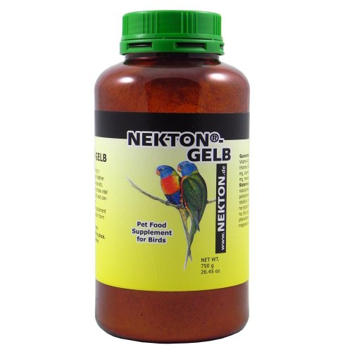 Nekton Gelb to Enhance Yellow Color in Birds, 750gm by Nekton