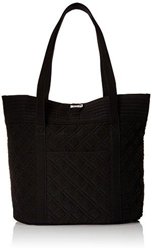 Amazon.com: Vera Bradley Vera Tote, Classic Black, One Size: Vera ...