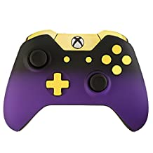 Xbox One Controller - Purple Shadow & Gold Edition