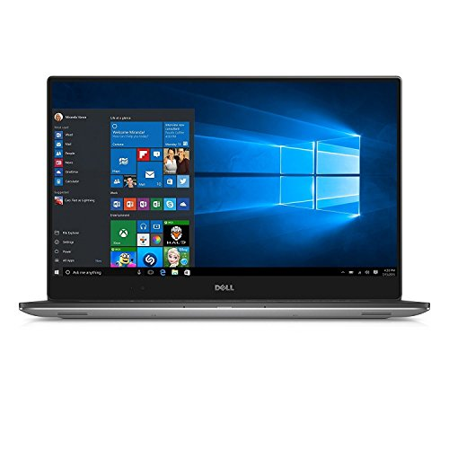 "Dell XPS 15 - 9560 Intel Core i7-7700HQ X4 2.8GHz 8GB 256GB SSD 15.6"" Win10, Silver"