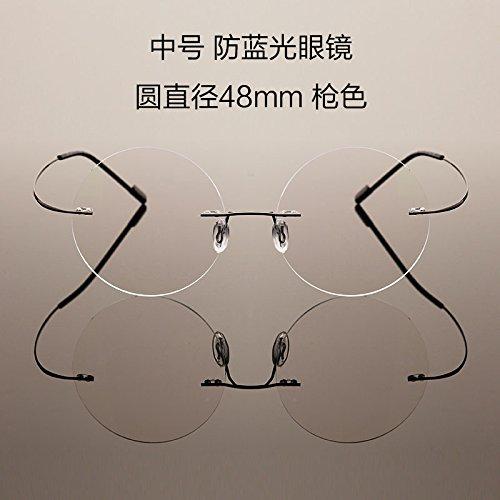 macho protección Medium KOMNY Medium y anti reborde plano gafas gafas radiológica productos ordenador gafas azul Color gun redondas de de televisión femeninos Gun colour Cqtn6wqxr1