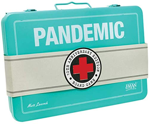 Z-Man ZM7102 Pandemic: 10th Anniversary Edition (Game Pandemic Board)