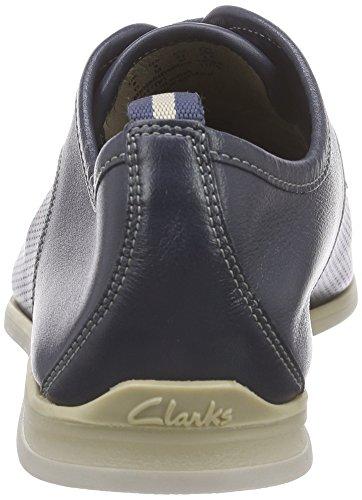 Clarks Frewick Walk - Zapatos Derby Hombre Azul (Navy Leather)