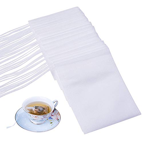 - Disposable Empty Tea Bags, Filter Bags for Loose Tea 300 PCS (3.54