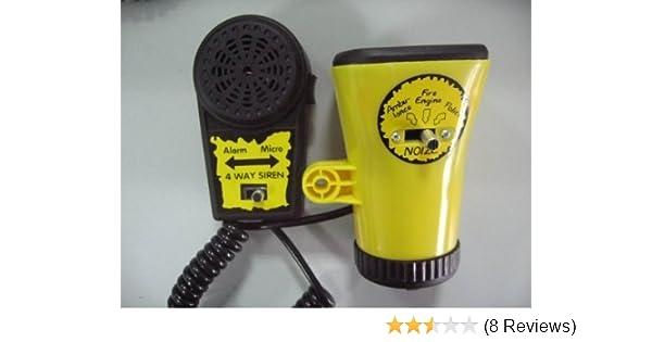 Ambulance Police Fire Engine Microphone Kids Boys Bike Bicycle Alarm Siren