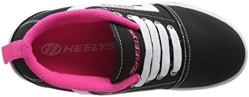 Heelys GR8 Pro, Zapatillas Unisex Niños Black (Black/White/Pink)