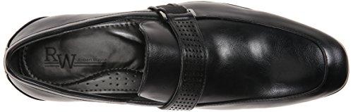 RW by Robert Wayne Mens Tristian Slip-On Loafer Black fFLIPqqor