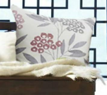 Modern Floral Vorhänge Pink Grau Creme Ösen Terrasse Living Küche Größe  Diesem Paar:, Cushion