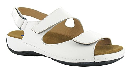 Wolky Comfort Sandals 00315 Liana - 30100 white leather - 40 by Wolky