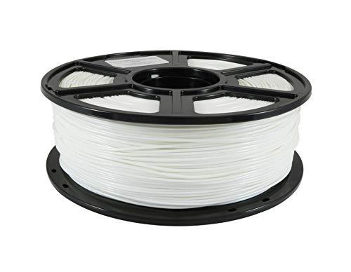 WOL 3D Flashforge 1.75 mm ABS 3D Printer Filament (White)
