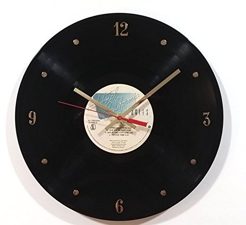American Eagle Clock - Eagles Vinyl Record Clock (Hotel California). Handmade 12