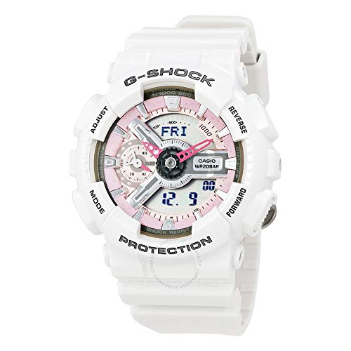 G-Shock Women's GMA-S110MP-7ACR White One Size