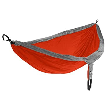 Eagles Nest Outfitters - DoubleNest Hammock, Orange/Grey (FFP)