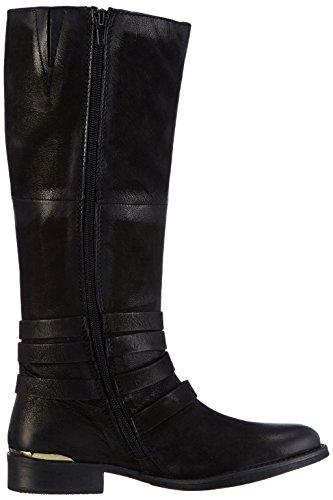 mujer Negro largo negro en botas frío para SPM con Nevo clásicas forro Highboot qAxnBOaRzw