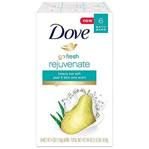 (Dove Go Fresh Beauty Bar, Pear and Aloe Vera, 12 Count)