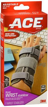 Ace Deluxe Left Wrist Stabilizer - 1 each, Pack of 6