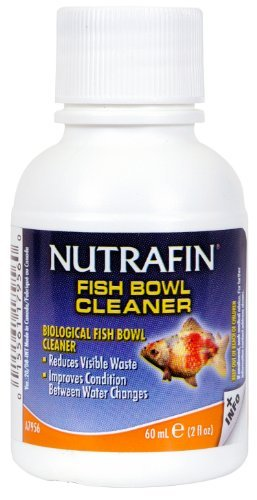 Nutrafin Fish Bowl Biological Cleaner, 2-Ounce by Nutrafin