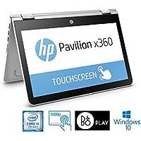 "HP Pavilion 15-bk117cl x360 Convertible, Core i5-7200U, 15.6"" FHD Touch Screen (Certified Refurbished)"