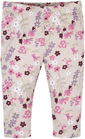 Gerber Baby Girls' 3-Piece Bodysuit, Cap, and Pant Set