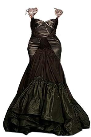 udesignwecustomize Plus Size Prom Mermaid Dress Silk XXX