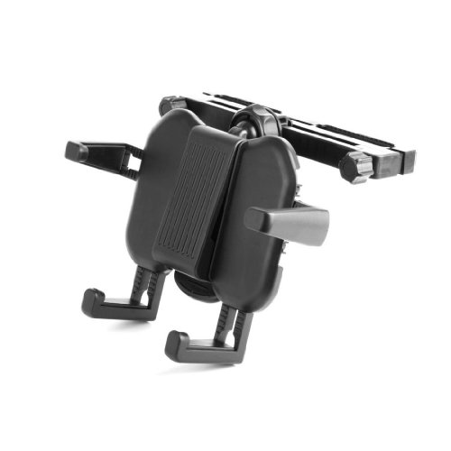 Telephone Master Hub (DURAGADGET Extendable Car Headrest Mount For Lexibook Tablet Master 3 MFC163FR / Tablet Ultra 3 XL MFC191FR / Tablet Kids MFC142FR)