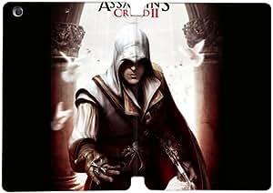 Cubierta de cuero y caja de la PC funda / soporte para funda de Apple iPad Mini 4 funda Con Magnetic reposo automático Función de despertador DIY por Assassin'S Creed Ii Ezio Entering A Dark Room N3R7Fp2H8Uq