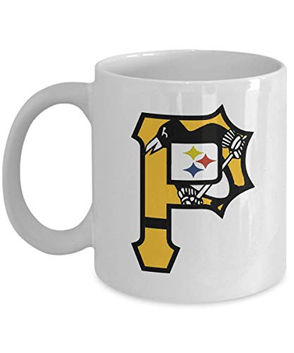 Pittsburgh Sports Teams Novelty Coffee Mug - Makes a Great Gift! Perfect For Pittsburgh Sports - Oz Steelers 11 Pittsburgh Mug