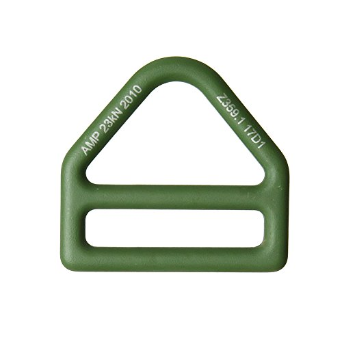 Fusion Climb Prevail Drop Forged Alloy Steel Single Slotted D-Ring Foliage Green ()