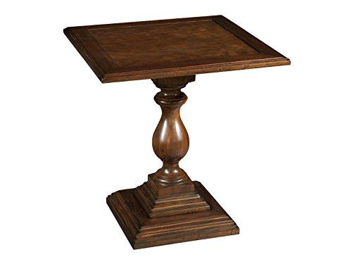 Hekman Pedestal Desk - Hekman Furniture 23207 Square Pedestal Table, Just Right