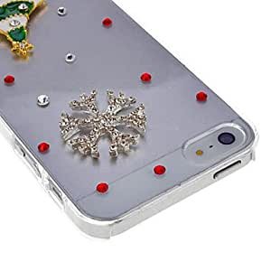 HP- Cat Caso Patrón duro para el iPhone 4 y 4S