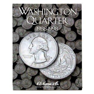 Washington Quarters Folder 1988-1998