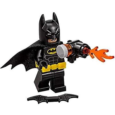LEGO DC Batman Movie Batman Minifigure [Flamethrower Loose]: Toys & Games [5Bkhe0206728]