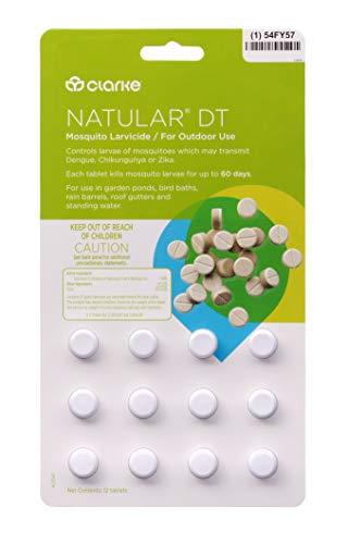 (Clarke - Natular DT Mosquito Larvicide - Bi-Layer Tablet)