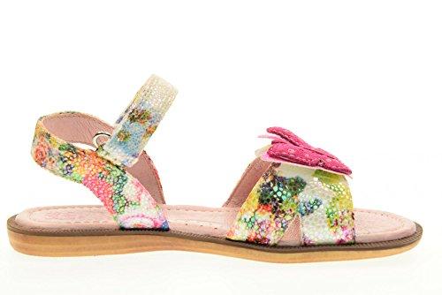 Lelli Kelly LK4502 (AA02) Fantasia Bianco Farfalla Adjustable Sandals-26 (UK 8)