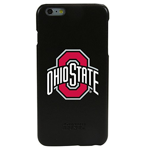 Guard Dog Ohio State Buckeyes Genuine Leather Case for iPhone 6 Plus / 6s Plus with Guard Glass Screen Protector