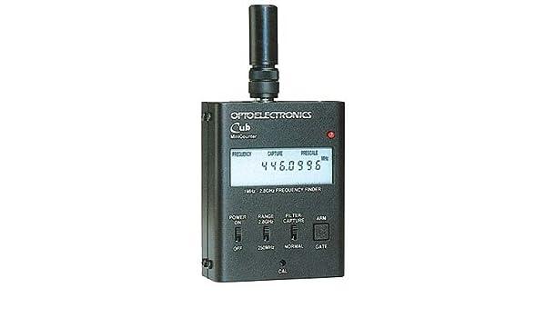CUB OPTOELECTRONIC-Contador de frecuencias-frecuencímetro-Detector de señales de RADIO: Amazon.es: Electrónica
