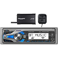$49 » Dual Electronics WMSX42BT Marine Stereo LCD Single DIN with Built-in Bluetooth, SiriusXM…