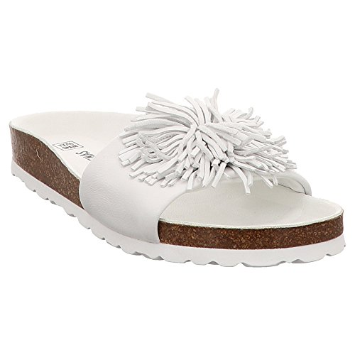 VERBENAS Women's Clogs 0177 White 0291 076SGR 881nRwqr