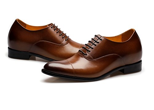 damit Herrenschuh de Savona werden moronti 0 bis Sie braun zu 7 groesser cm Ledersohle Braun mit xfIwfr6