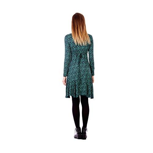 Zergatik Vestido Mujer MENIR2 Verde