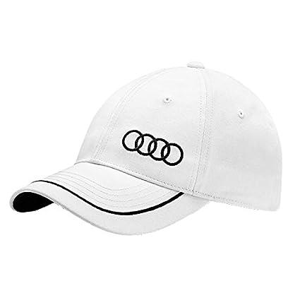 Audi 3131400920 Gorra Unisex, Blanco: Amazon.es: Coche y moto