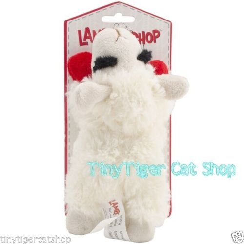 New Multipet Lamb Chop Shari Lewis Plush Squeaker Dog Toy MINI 6''
