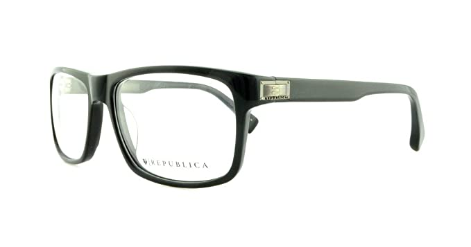 cb398f4cec8 Image Unavailable. Image not available for. Colour  REPUBLICA Eyeglasses  MONTREAL Black 56MM
