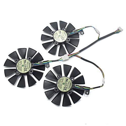 inRobert Video Card Cooling Fan for ASUS GTX 1060/1070/180, used for sale  Delivered anywhere in Canada