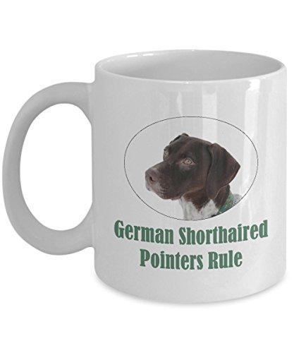 German Shorthaired Pointers Rule - Ceramic Coffee Mug