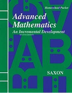 Saxon Advanced Mathematics (Home Study Packet, Complete Set), 2nd