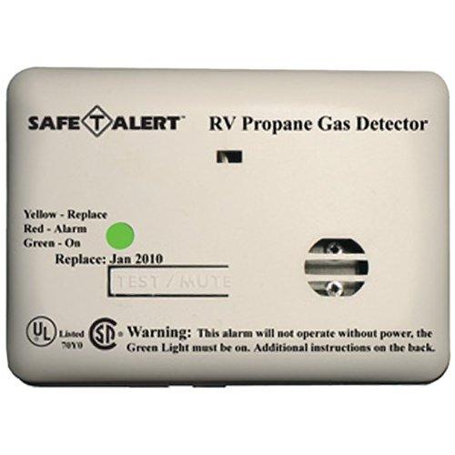 MTI INDUSTRIES Safe-T-Alert Mini Flush Mount Series Lp Gas Alarm